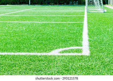 Green Grass field Soccer