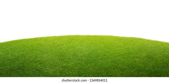 grünes Gras einzeln auf Hintergrund