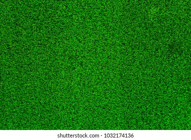 Green grass soccer field background.