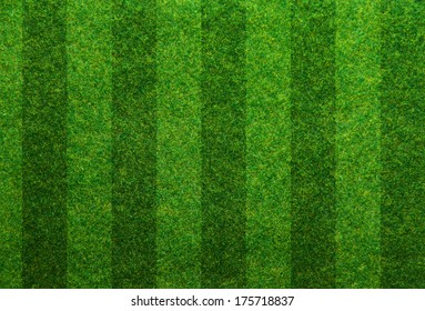 Green grass soccer field background