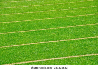 Green Grass with Sport Field Lines Abstract/Abstract of Sport Field/Western Australia