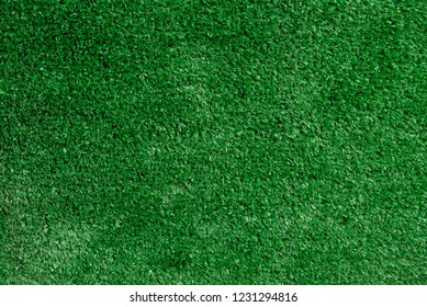 Green grass texture background. Flat lay, top view, copy space