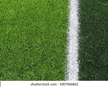 Green grass texture on football field