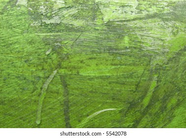 Green grunge abstract