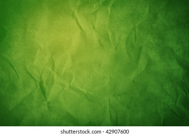 green and grunge paper background