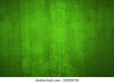 Green grunge textured wall