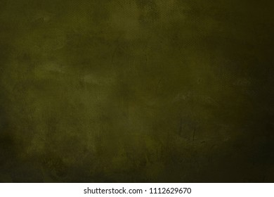 green grungy painting background