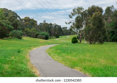 Green Gully Linear Park in Templestowe in the north-eastern suburbs of Melbourne, Australia.