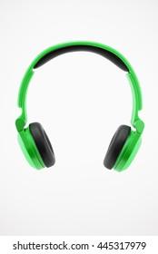 Green Headphone 1