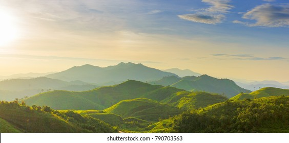 green hill mountain range