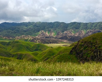 Green Hills of Dzukou Valley, Nagaland, Northeast India. The Dzukou Valley is located at the border of the states of Nagaland and Manipur