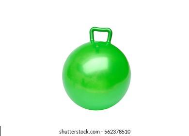 Green hopper ball for kids