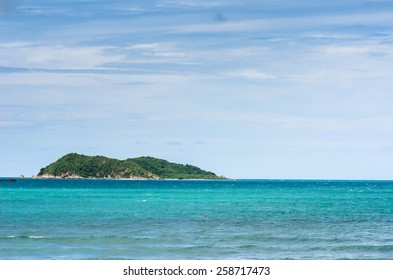 Green island and sea nature landscape in Thailand
