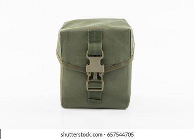Green Khaki Military First Aid Kit Stock Photo (Edit Now