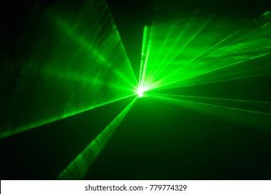 Green laser lights