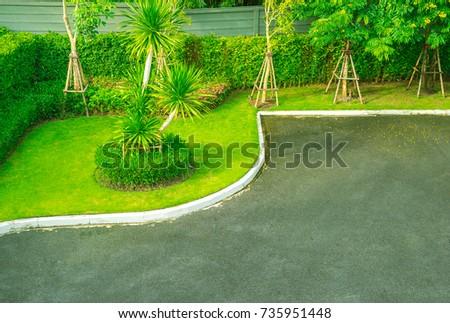 Green Lawns And Landscaped Gardens, Landscaped Gardens, Beautiful And  Attractive Gardens, Beautifully Landscaped