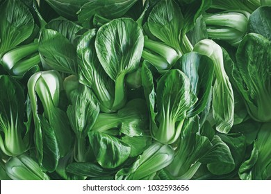 Green leafy vegetables, China