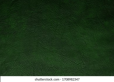 green leather texture, use for backgrounds