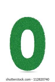 Green letter O.