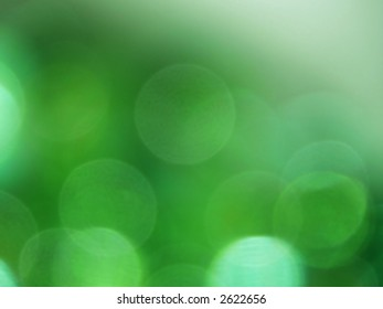 Green light circles uneven background (six colors collection)