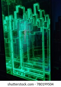 Green Light Line Building Building Panich