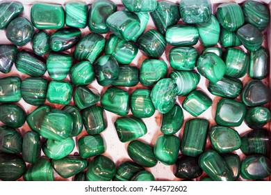 green malachite mineral texture as nice color background