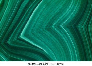 Green malachite. Photo texture.