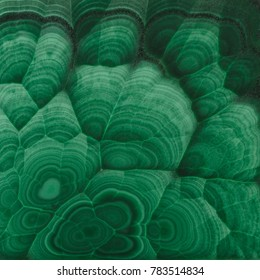 Green malachite. Photo.Texture.