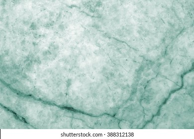 Green marble pattern texture abstract background / texture surface of marble stone from nature / can be used for background or wallpaper