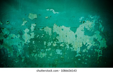 green mortar background texture, green wall, crack mortar, crack wall background, concrete texture