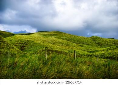 green mountain landscape Inishowen, Ireland