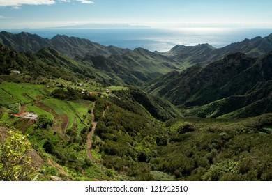 The green mountains of Anaga
