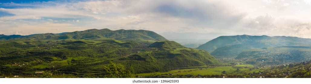 Green mountains, month - May, Republic of Dagestan