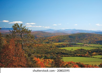 Green Mountains from Mount Philo