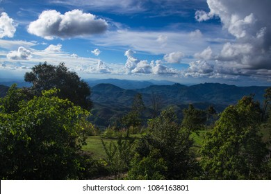 Green mountains of Northern Thailand