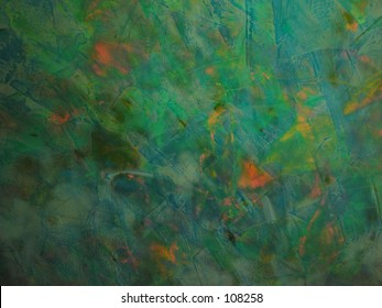 Green Opal Background