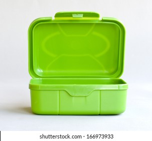 green open box
