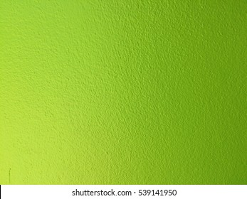 Green paint concrete wall texture for background design