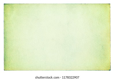 Green paper texture background - clipping path included
