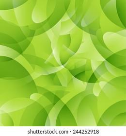 Green parttern background