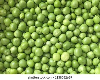 Green pea at a local market.