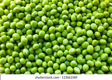 Green Peas background texture vegetable