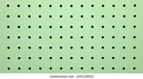 Green Peg Board