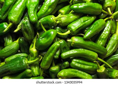 green peppers of Padron, Galicia, Spain