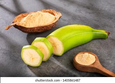 Green plantain flour - Musa Paradisiaca