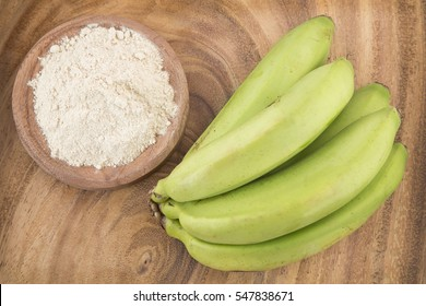 Green plantain flour (Musaparadisiaca)