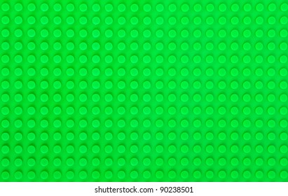 green plastic construction background