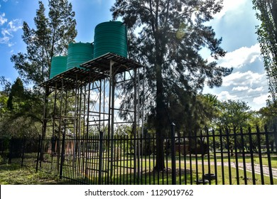 Elevated Water Storage Tank Images, Stock Photos & Vectors