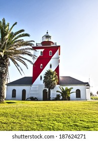 Green point light house in Cape Town