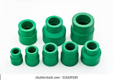 Green PPR fitting